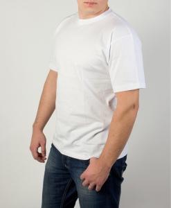 Белая мужская футболка купить
